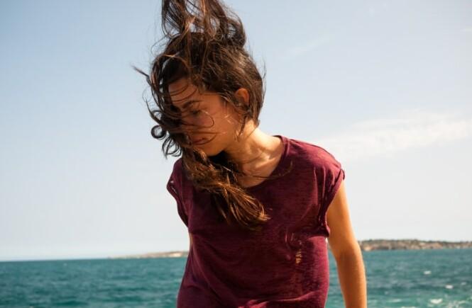 kobieta i morze